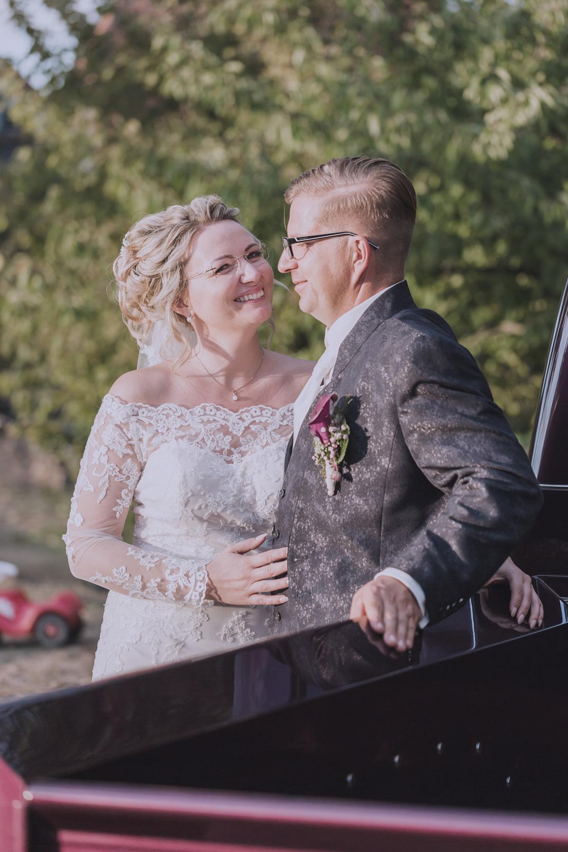Michael Koscar und seine Ehefrau