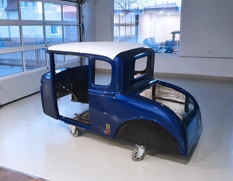 Restaurierung des Ford Model A